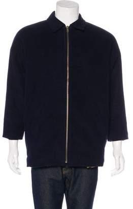 Billy Reid Collared Zip Coat