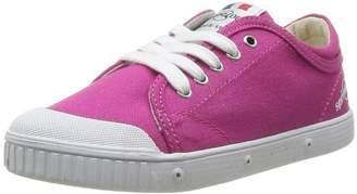 Spring Court Cvs Lace Ge1, Baskets mode Unisex Children's Pink Size: