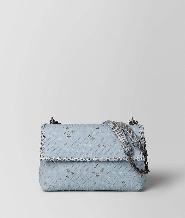 Dahlia Intrecciato Nappa Ayers Small Olimpia Bag detail image f6d0521c19aa4