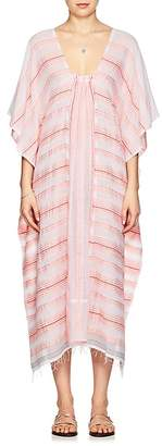 Lemlem Women's Tereza Striped Cotton Caftan