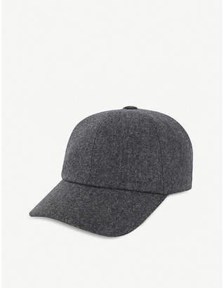 Brunello Cucinelli Flannel baseball cap
