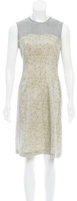 Dries Van Noten Floral Knee-Length Dress