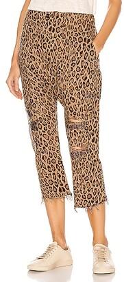 R13 Leopard Utility Pants