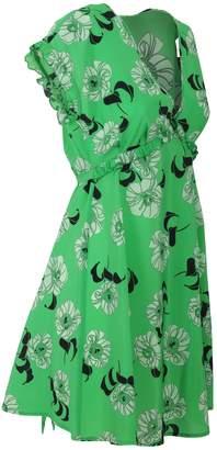 P.A.R.O.S.H. Blend Silk Dress Split