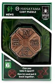 Hanayama 3-Piece Level 6 News Cast Puzzle