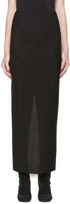 Haider Ackermann Black Long Pencil Skirt $855 thestylecure.com