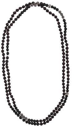 Tateossian mesh bead necklace