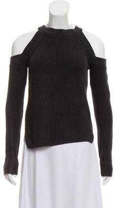 Rag & Bone Cold-Shoulder Crew Neck Sweater