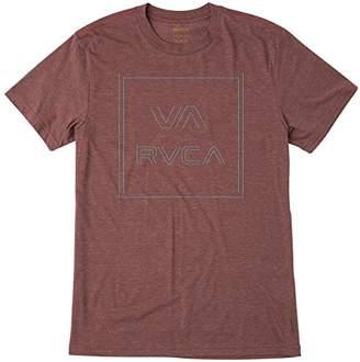 RVCA Men's Pinner All The Way Short Sleeve T-Shirt