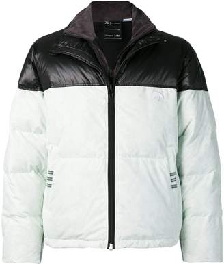 adidas By Alexander Wang two tone padded jacket