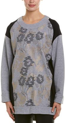 BCBGMAXAZRIA Embroidered Tunic