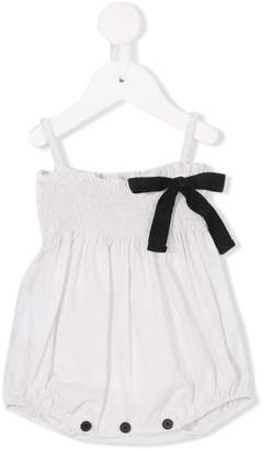 Douuod Kids bow embellished body