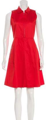 Armani Collezioni Sleeveless A-Line Dress