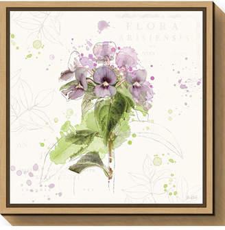 Amanti Art Floral Splash III by Katie Pertiet Canvas Framed Art
