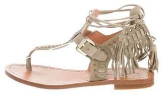 Sigerson Morrison Alysa Fringed Sandals