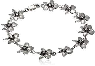 "Zina Sterling ""Hibiscus Collection"" Hibiscus Bracelet"