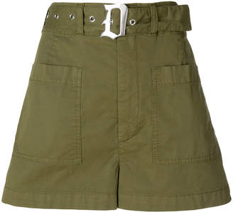 Dondup belted fitted shorts