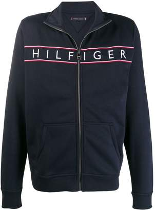 Tommy Hilfiger embroidered logo sports jacket