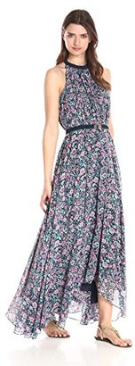Juicy Couture Black Label Women's Riviera Blossoms Printed Maxi Dress $259.42 thestylecure.com