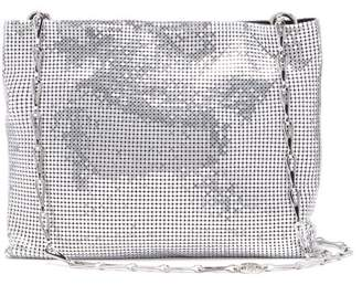 Paco Rabanne Pixel 1969 Chain Shoulder Bag - Womens - Silver