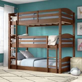LOFT Harriet Bee Narooma Twin over Twin Triple Bed Bed Frame