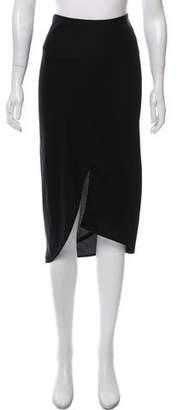 Zero Maria Cornejo Asymmetrical Midi Skirt w/ Tags