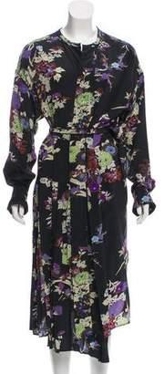 Isabel Marant Silk Wrap Dress
