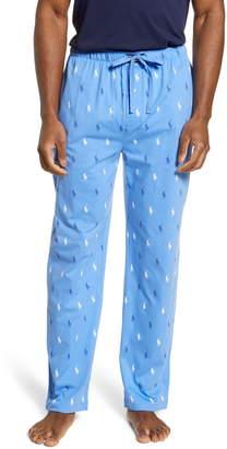 Polo Ralph Lauren Allover Print Knit Lounge Pants