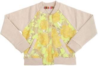Lurex Jacquard & Cotton Jacket