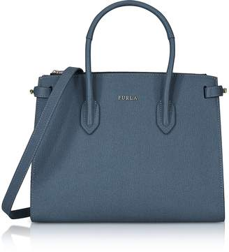 Furla Saffiano Leather Pin Small E/W Tote Bag