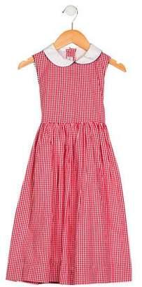 Papo d'Anjo Girls' Sleeveless A-Line Dress
