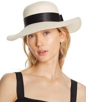 Aqua Bow Detail Floppy Sun Hat - 100% Exclusive