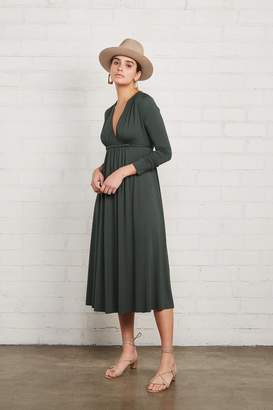 Rachel Pally Long Sleeve Mid-Length Caftan Dress - Juniper