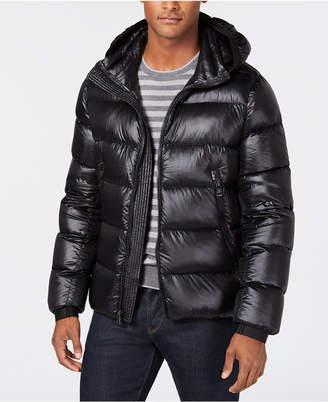 Calvin Klein Men Slim-Fit Hooded Water Resistant Down Jacket