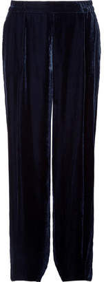 Stella McCartney Velvet Pants - Navy