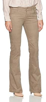 Armani Jeans Women's Wide Leg Mid Rise Jeans