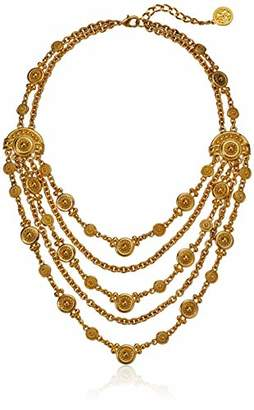 Ben-Amun Jewelry Helen of Troy Multi Layer Chain Necklace
