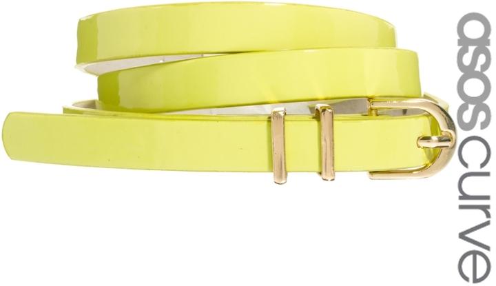 Asos Metal Keeper Super Skinny Belt
