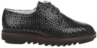 Dolce & Gabbana Laced Woven Leather Shoes