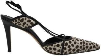 Manolo Blahnik Pony-style calfskin heels