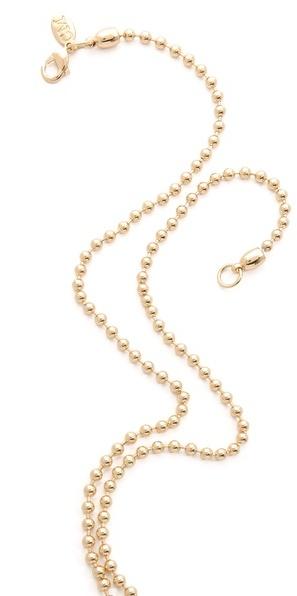 Club Monaco Opal Layering Necklace