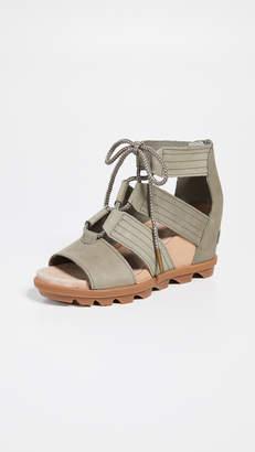 9736d530b Sorel Green Women's Sandals - ShopStyle