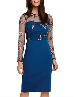 Phase Eight Felice Embroidered Dress
