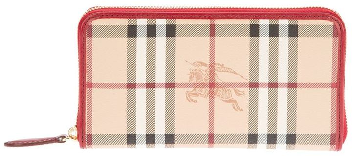 Burberry 'Haymarket' wallet