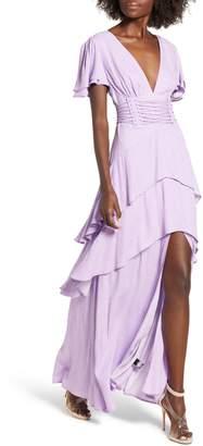 AFRM Micah Corset Maxi Dress