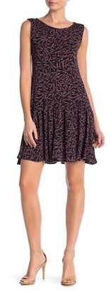 Leota Savvy Sleeveless Ruffle Dress