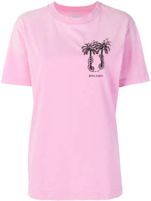 Palm Angels palm island T-shirt