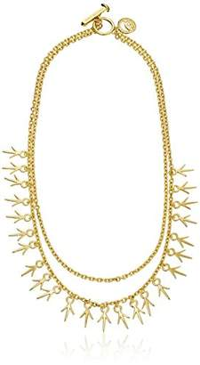 Giles & Brother Giles and Brother Long Thorn Two Chain Necklace