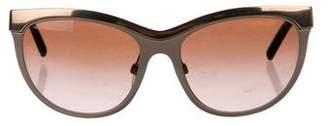 Derek Lam Oversized Gradient Sunglasses