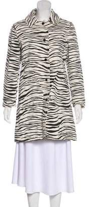 Marc by Marc Jacobs Printed Single-Breasted Coat